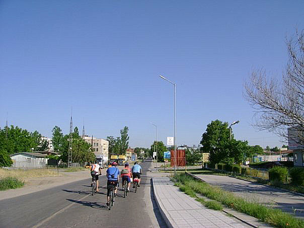Entering Svilengrad