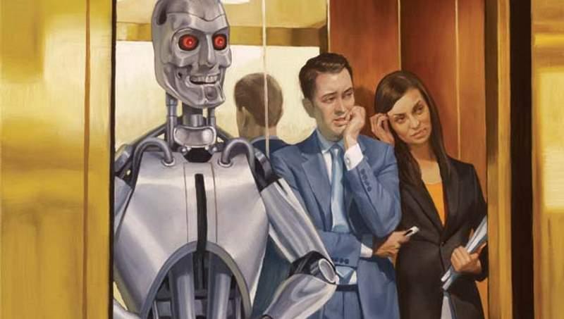Robot (İlüstrasyon: Roberto Parada)