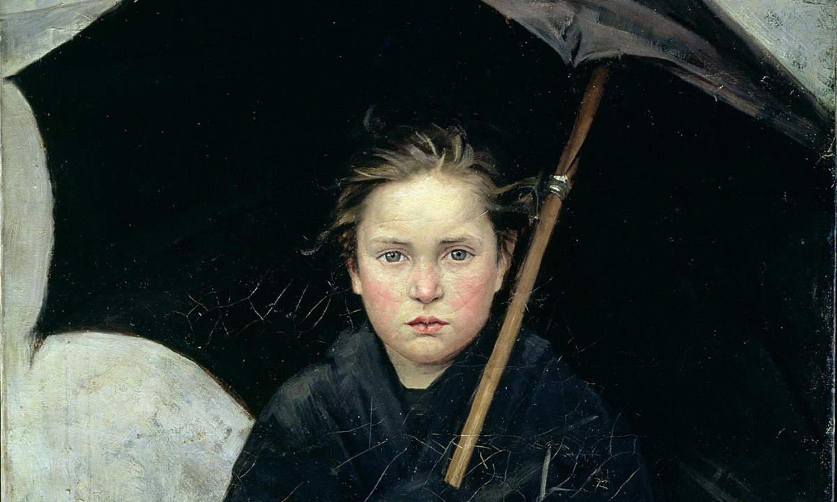 The Umbrella (Marie Bashkirtseff)